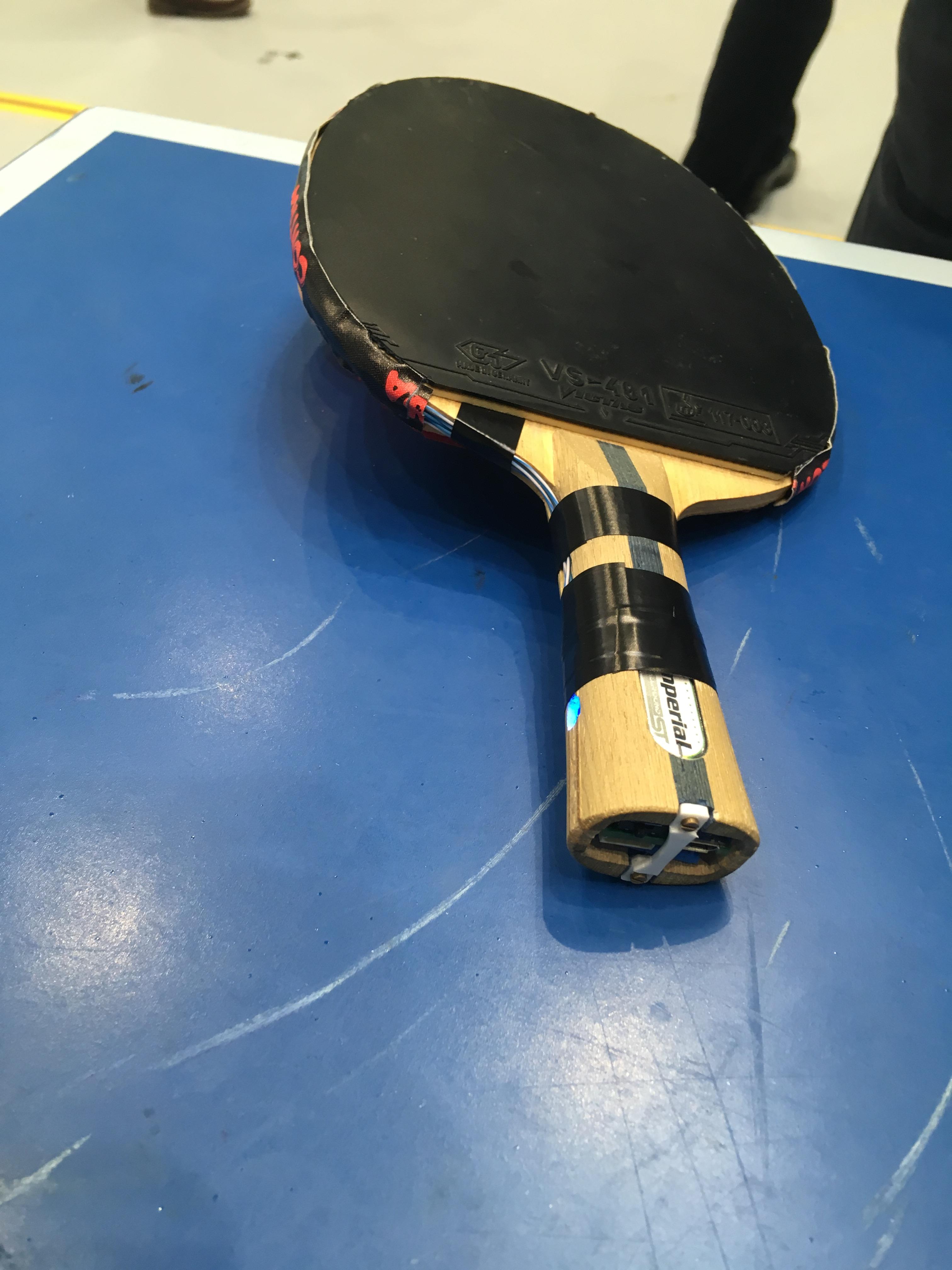Smarter Tischtennisschläger