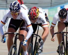Bahnrad, Leistungssport, Olympia, Datenerhebung, Leistungsparameter, Technologie im Spitzensport
