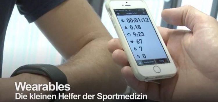 "Video: ""Wearables – Die kleinen Helfer der Sportmedizin"""