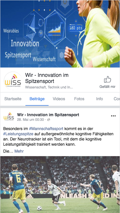 Facebookauftritt-Wiss-Netz