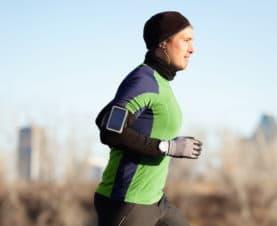 Jogging, Wearables, Sauerstoffsättigung, Waldlauf, Trainingsdaten, Messung, Leistungsmessung