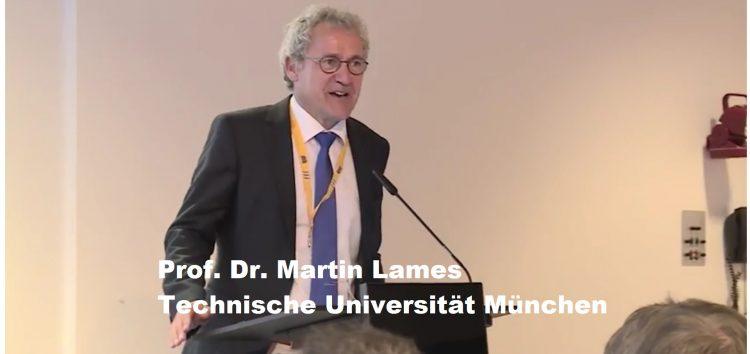 """Prof. Martin Lames über """"Technologische Innovation im Spitzensport"""""""