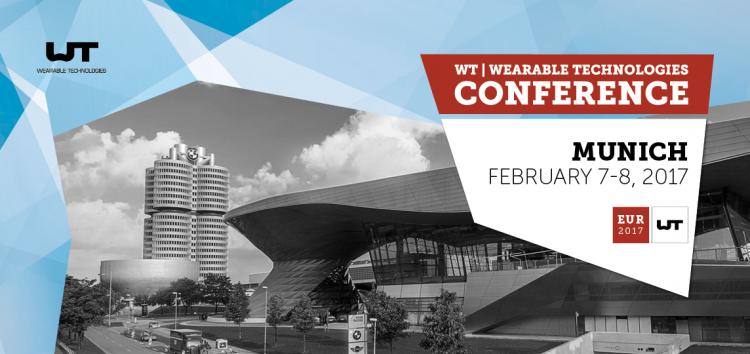 WT | Wearable Technologies Conference – 7. / 8. Februar 2017
