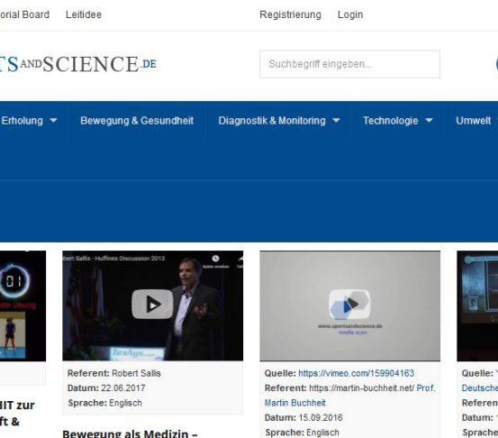 Sportsandscience.de: Information, Beratung, Dialog & Weiterbildung – Gastbeitrag von Prof. Dr. Billy Sperlich