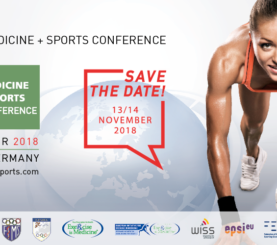 6. MEDICA MEDICINE + SPORTS CONFERENCE – 13./14. NOVEMBER  – DIGITALE INNOVATIONEN IM SPITZENSPORT AUF DER MEDICA IN DÜSSELDORF