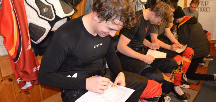 The best better rest- wie erholen sich die Top-Division-Aufsteiger der U20 Eishockey-Nationalmannschaft?