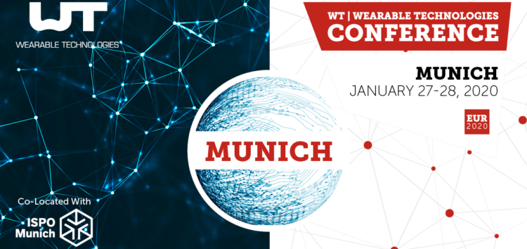 WT | Wearable Technologies Conference am 27./28. Januar 2020 in München