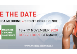 Save the date 8. MEDICA MEDICINE + SPORTS CONFERENCE 2020