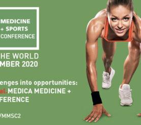 virtual.MEDICA MEDICINE + SPORTS CONFERENCE am 18./19. November – Der internationale Hotspot für Sport-Mediziner, -Wissenschaftler, Athleten, Visionäre und Experten