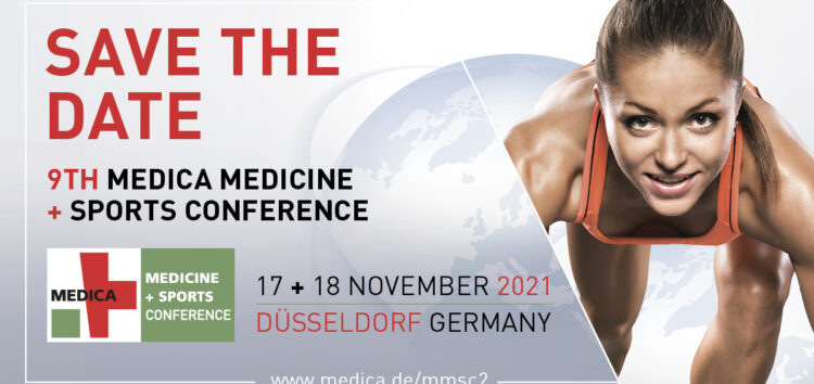 Call for Speakers – 9. MEDICA MEDICINE + SPORTS CONFERENCE